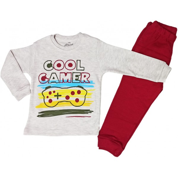 Paix kids 047  Çocuk Pijama Cool Gamer